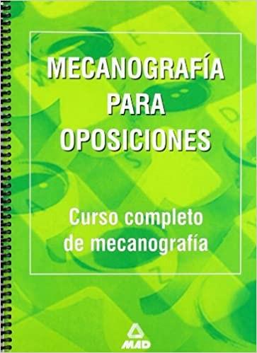 Mecanografía para oposiciones.
