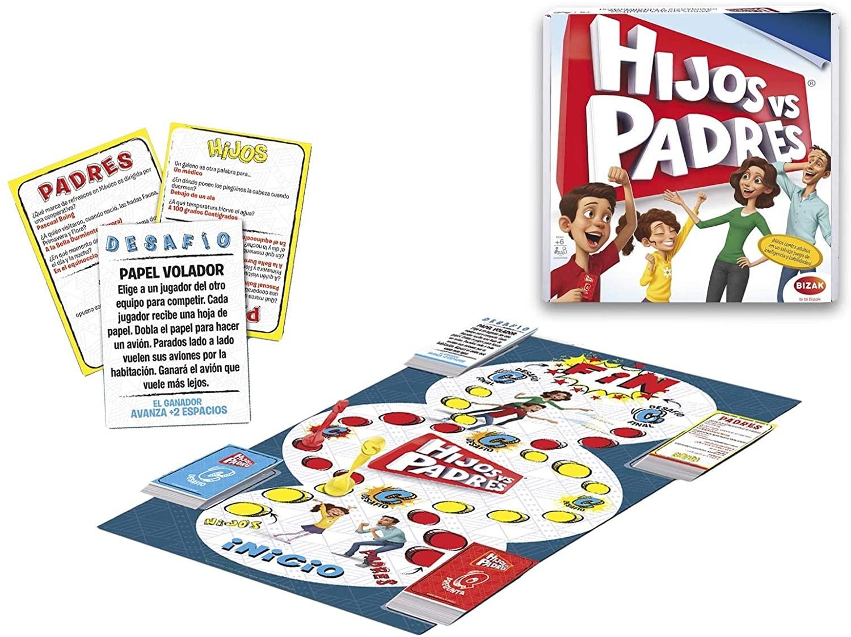 Juegos Bizak Hijos Contra Padres